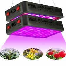 LED Grow Light with LensSAHAUHY 2-Packs 600W Full Spectrum Plant Lights