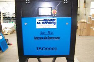 Air-Max MAC-5B   (NEW ) Industrial  Rotary Screw Compressor  12 Year Warranty !!