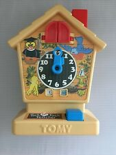 VINTAGE  TOMY TICK TOCK TEACHER CLOCK WITH CUCKOO