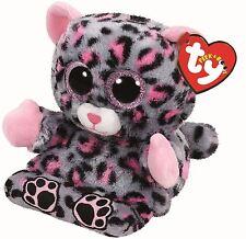 Trixi Leopard-TY PEEK-A-BOO - BOO PELUCHE TEDDY-Telefono cellulare titolare SOFT TOYS