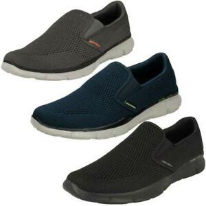 Skechers Mens Memory Foam Walking Shoes - Double Play