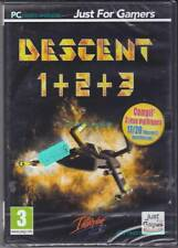 1 PC-DVD Descent 1+2+3