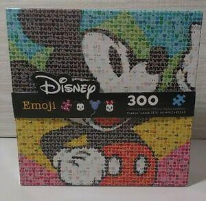 Disney Mickey Mouse Emoji 300 Piece Jigsaw Puzzle Large Pieces Ceaco