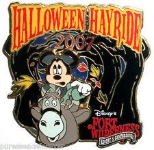 WDW Fort Wilderness Halloween Hayride 2007: Mickey Pin