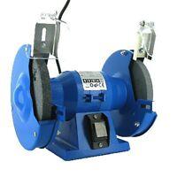 150MM ELECTRIC BENCH GRINDER 230V 150W  MOTOR STEEL TWIN GRINDING STONES U118