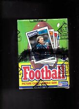 1987 TOPPS Football Unopened Wax Box  - BBCE Authenticated