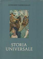 (C. Barbagallo) Storia universale 1967 Vol. V parte IV Evo contemporaneo UTET
