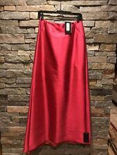 NWT BCBG Max Azria Collection Long Pink Party Maxi Skirt - Silk - Wool - Size 8