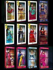 Princess Dolls of the World India Incas Korean Mexico South Africa Barbie Lot 12