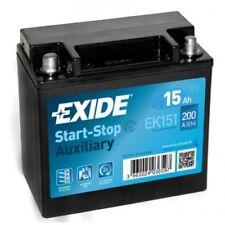 EXIDE Starter Battery Start-Stop Auxiliary EK151