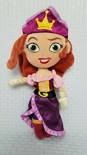 Disney Store Jake and the Neverland Pirates Pirate Princess Plush Doll 14""