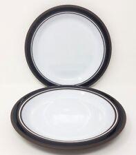 "Hornsea Contrast - 2 x 7.75"" Salad/Dessert Plates - Very Good Condition."