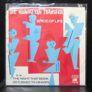"The Manhattan Transfer - Spice Of Life 7"" Mint- Atlantic 7-89786 USA 1983"