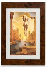 """Salvador Dali Framed Print """"Nude Woman Behind Sun Salvador Dali"""""""