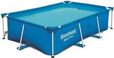 Bestway Rectangular Frame Swimming Pool - Steel Pro - 259 x 170 x 61 cm