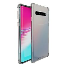 Samsung Galaxy S10 5G amCase Protective Crystal Bumper Phone Case/Cover (Clear)
