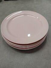 6 Lu-Ray 9 1/4 Pink Plates
