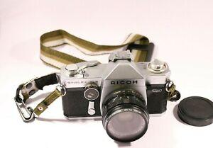 Ricoh Singlex TLS + 55mm f2.8 Lens + Camera Bag & Flash