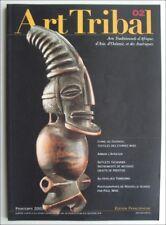 REVUE ART TRIBAL - AFRIQUE ASIE OCEANIE AMERIQUE - N° 2 - PRINTEMPS 2003