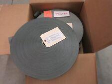 "Nylon Strap Webbing Textile Belt 1-23/32"" 4000 lb Craft Tie Down Strapping Gray"