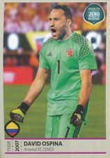 337 DAVID OSPINA COLOMBIA STICKER ROAD TO RUSSIA WORLD CUP 2018 PANINI