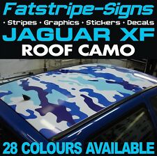 JAGUAR XF ROOF CAMO GRAPHICS STICKERS STRIPES DECALS CAMOUFLAGE V6 V8 2.0 3.0 SC