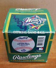 Rawlings 1999 World Series Baseball Game Boxed TONED