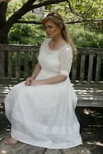 Victorian Trading Co April Cornell Baccalaureate Ivory Dress XL