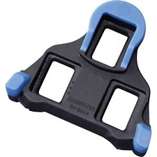 Shimano SH12 SPD SL Road Bike Pedal Cleats, Floating, Blue
