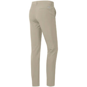 adidas Mens Ultimate365 Stretch Tapered Peformance Golf Trousers (Raw Gold)