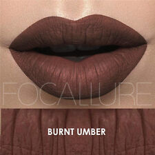 Focallure Matte Lipstick -  3 Burnt Umber Brown - Fast Shipping!