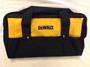 "New Dewalt DCK019 Tool Bag Heavy Duty Ballistic Nylon 19"" x 12"" x11"" w 6 pockets"