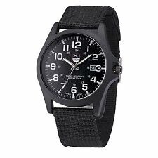 Mens Stainless Steel Military Sports Analog Quartz Army Watch (Free Shipping)