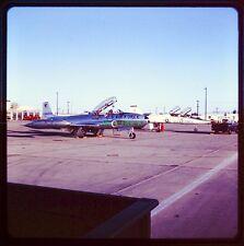 1969 Original Slide USAF T-33 Shooting Star George AFB