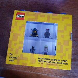 Lego Batman Black Frame Wall Clock (New in box) & Lego 8 Figure Blue Case NEW