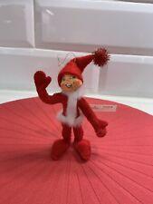 "2005 Annalee 4"" Red Elf Ornament"