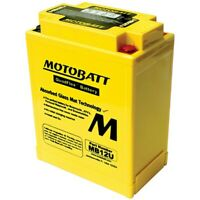 New Motobatt Battery For Honda CB360, G, T 360cc 74 75 76 1974 1975 1976 YB12AAS