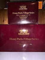 Disney Parks Village Series - Mickeys Christmas Carol & Disneyland Fire Dept 105