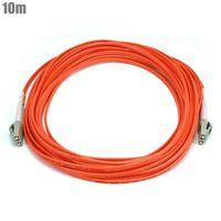 10M LC/LC Fiber Optic 50/125 OM2 Duplex Multi Mode Patch Cable Cord OFNR Orange
