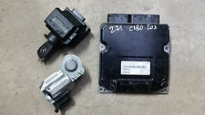 Mercedes W203 ECU Engine Control Unit Set Kit A 2711534979 5WK90470 SIM4L KE