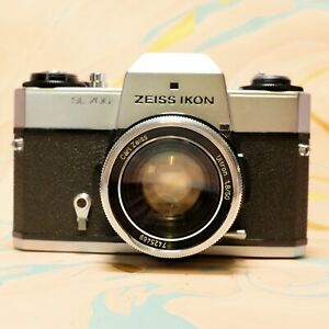 Zeiss Ikon Sl-706 Slr Film Camera With Carl Zeiss Ultron 1.8/50mm Working!