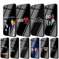 Greys Anatomy TPU Glass Case for iPhone 8 7 6 6S Plus 5 X XS 11 Pro Max XR Cover