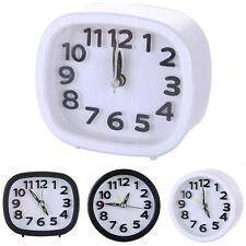 Small Clock Battery Operated Quartz Alarm Clocks Desks Bedside Table Decoration