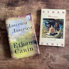 Two ETHAN CANIN Uncorrected Proofs/ARCs Blue River & AMERICA AMERICA w/ invite