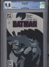 BATMAN #407 MT 9.8 CGC WHITE PAGES MILLER STORY MAZZUCCHELLI COVER AND ART