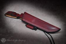 Adventure Sworn 'The Saratoga' Custom Leather Bushcraft Sheath