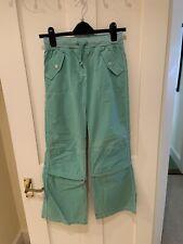 Mini Boden green Cargo Trousers