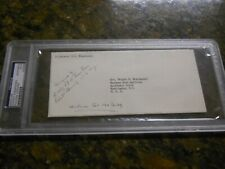 DWIGHT EISENHOWER SIGNED ENVELOPE PSA/DNA AUTHENTIC AUTO 34TH PRESIDENT/GENERAL