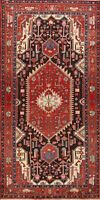 Tribal Geometric Nahavand Hand-knotted Runner Rug Staircase Oriental 5x11 Carpet
