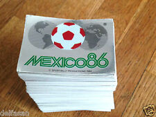 Album figurine Panini MEXICO 86 COMPLETE STICKERS SET 1986 wc wm World cup NEW